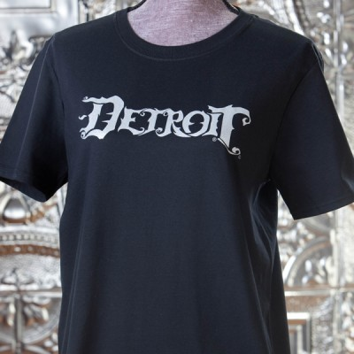 Detroit-Black-and-Silver-T-Shirt