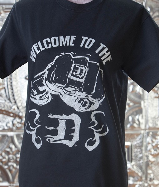 Detroit-the-D-Stylized-With-Fist---T-Shirt