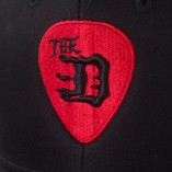 "The-""D""-Guitar-Pick-Curved-Brim-Snap-Back-Baseball-Hat"