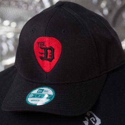 The-D-Guitar-Pick-Curved-Brim-Snap-Back-Baseball-Hat