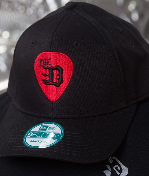 The-D-Guitar-Pick-Curved-Brim-Snap-Back-Baseball-Hat
