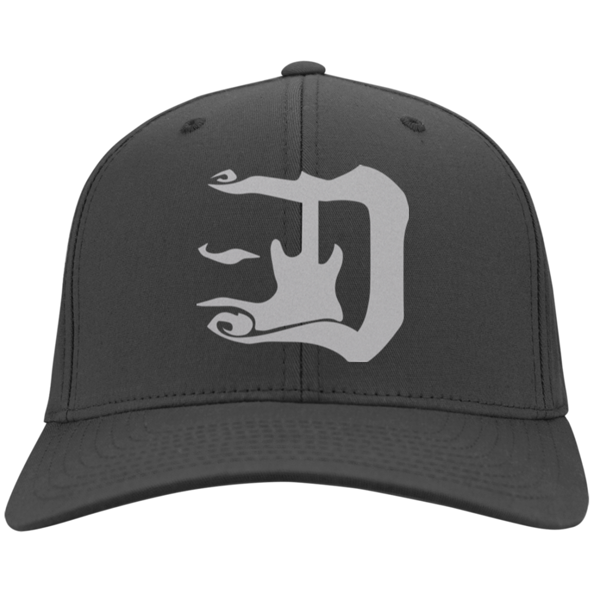 guitar d silver logo cap welcome to the d